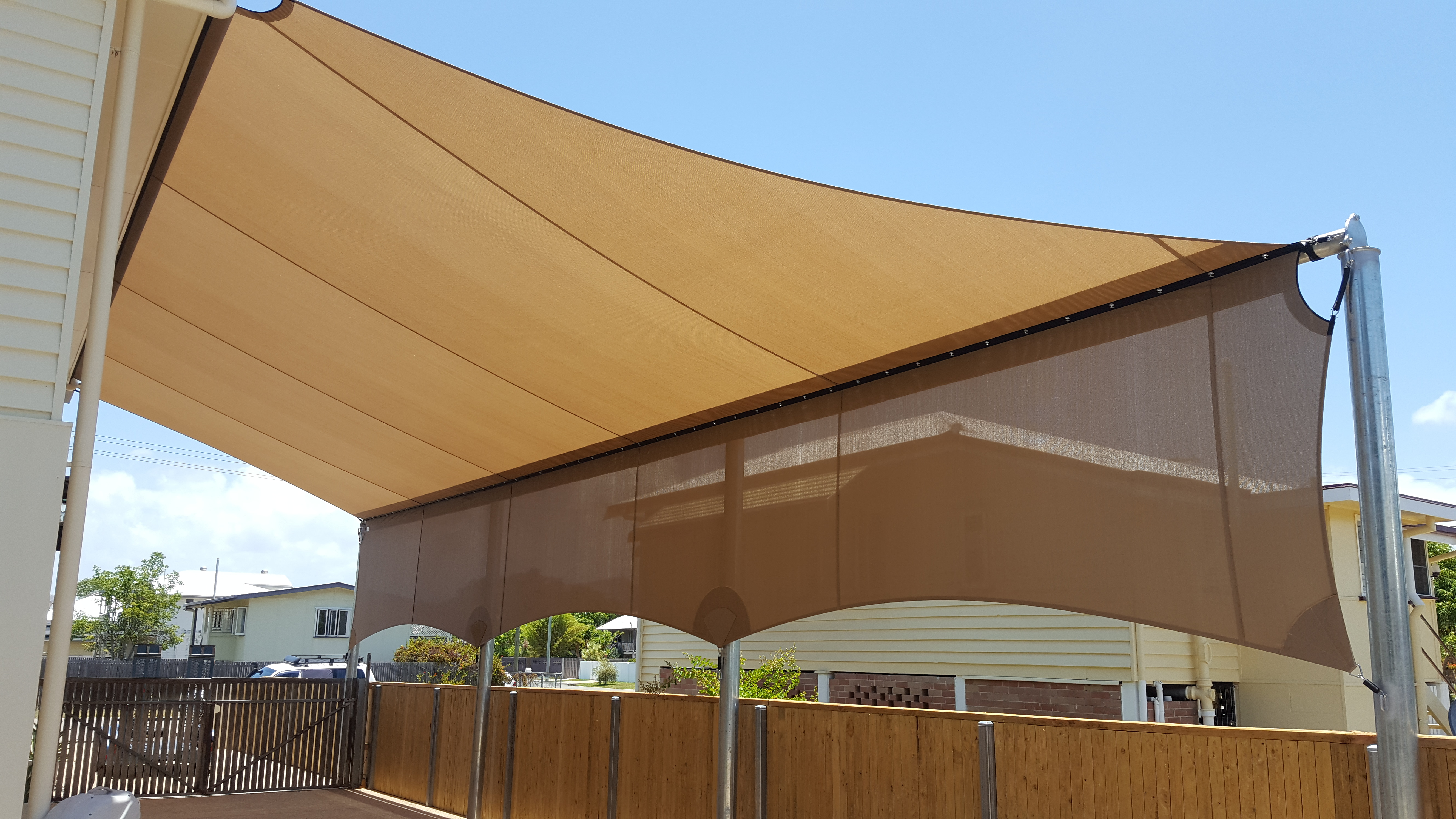 Cheyne Shades Amp Canvas Shade Sails Amp Shade Structures