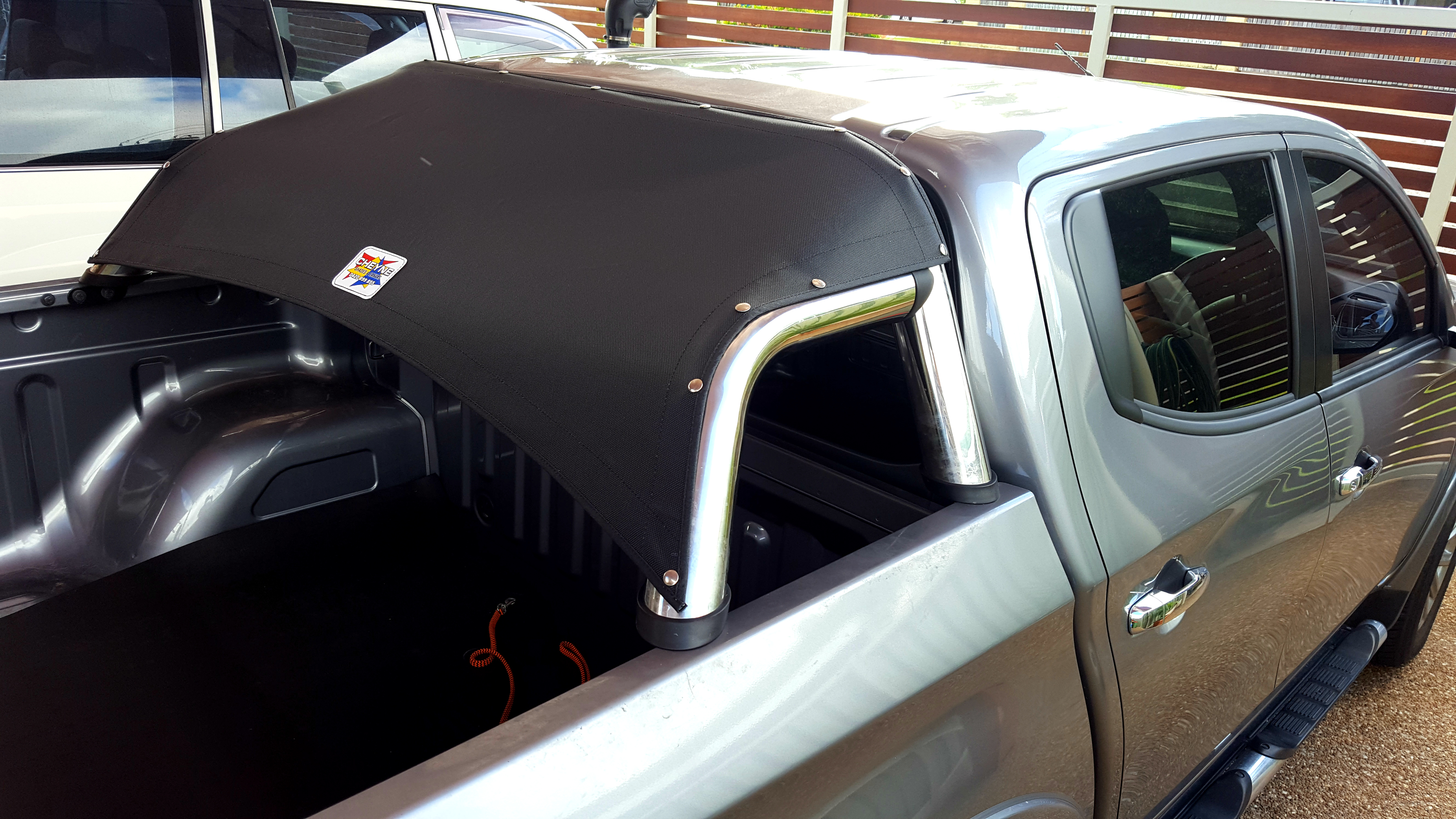 Ute Pet Shade Covers For Utility Vehicle Roll Bars