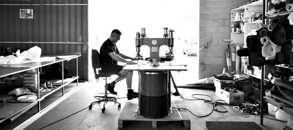 High Frequency Welding – Waterproof Vinyl & Repairs.