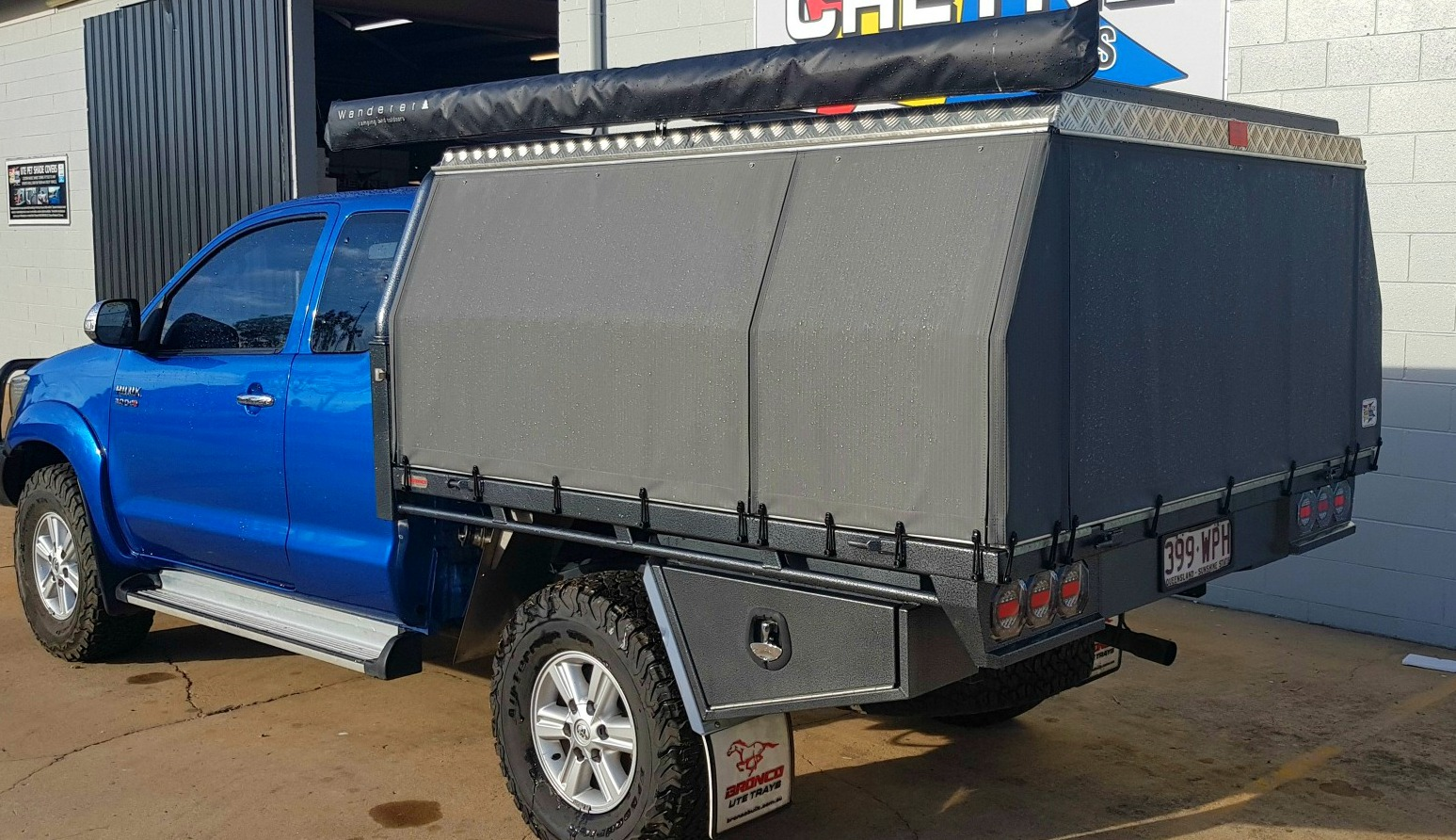 4WD Canopies, Campers, Caravans, Off Road Equipment.